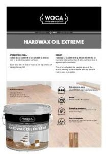 WOCA Hardwax Oil Extreme