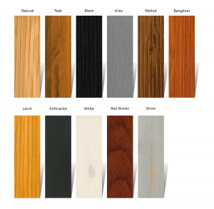 Woca Exterior Oil Colors