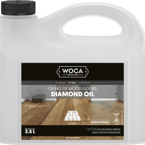 woca diamond oil, smoke brown