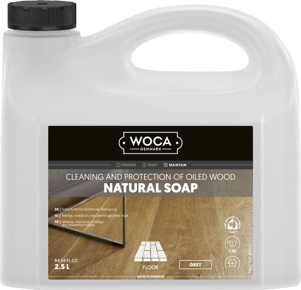 Woca Natural Soap Grey