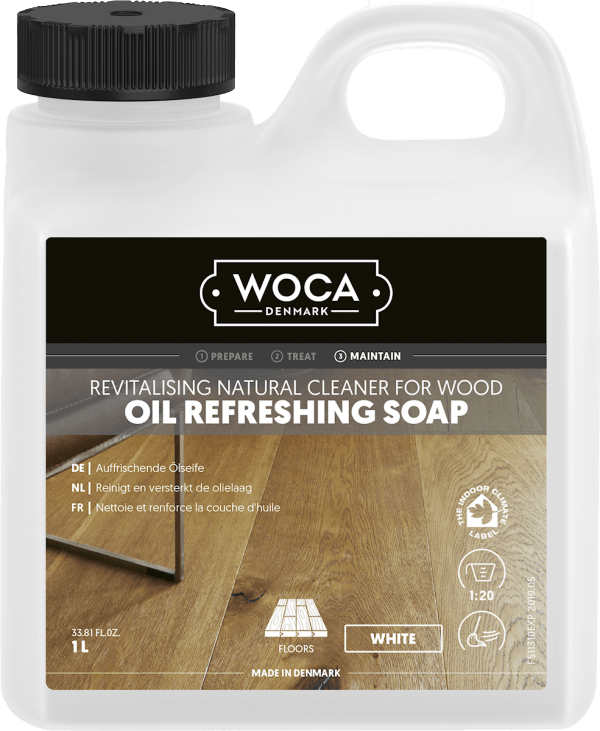 Woca Oil Refreshing Soap white