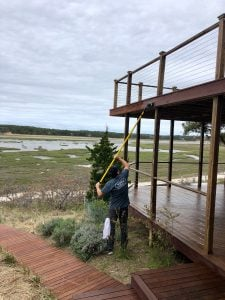 restoring a deck by Woca of Cape Cod