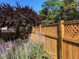 Fence restored by Woca of Cape Cod