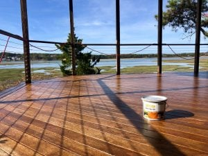 Another deck restored by Woca of Cape Cod