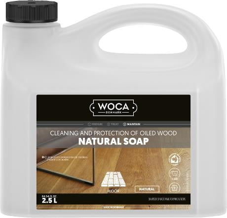 Woca Natural soap 2.5 ltr